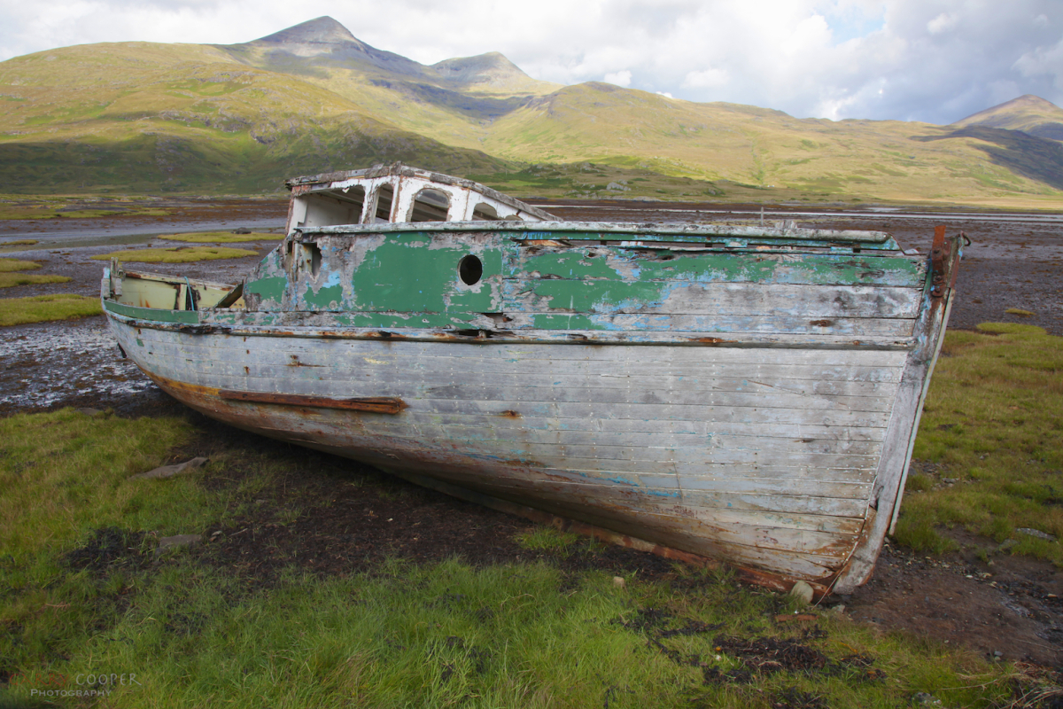 Boat Wreck on Mull