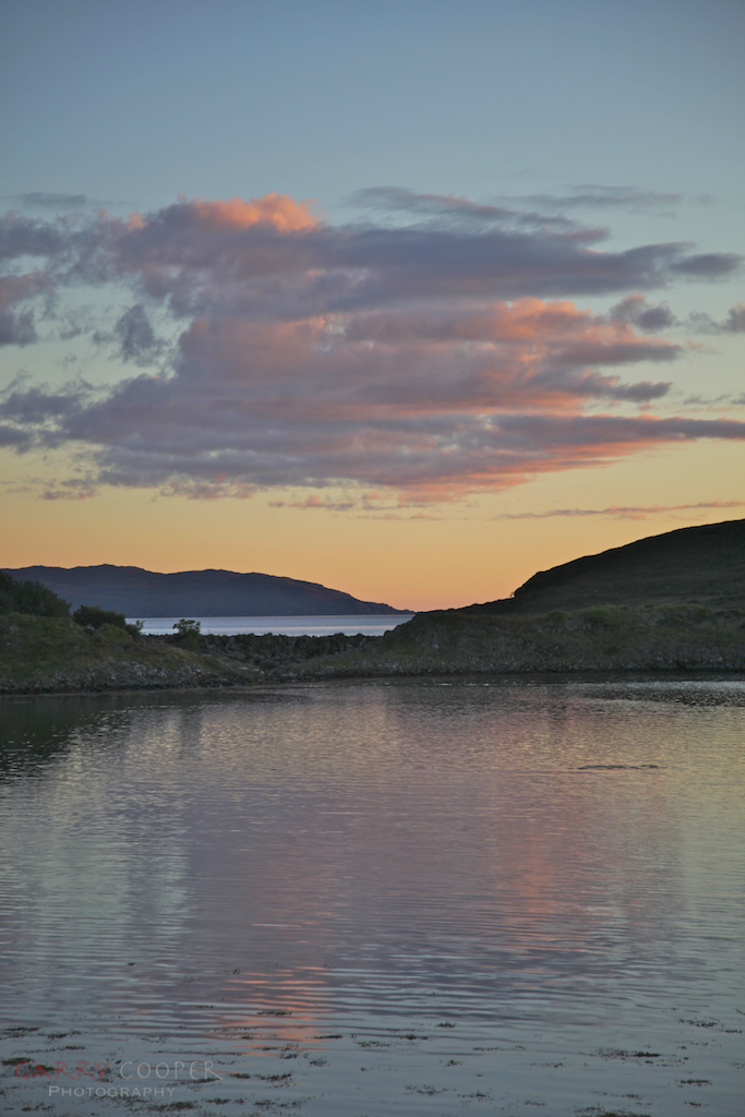 Sunset at Craobh Haven
