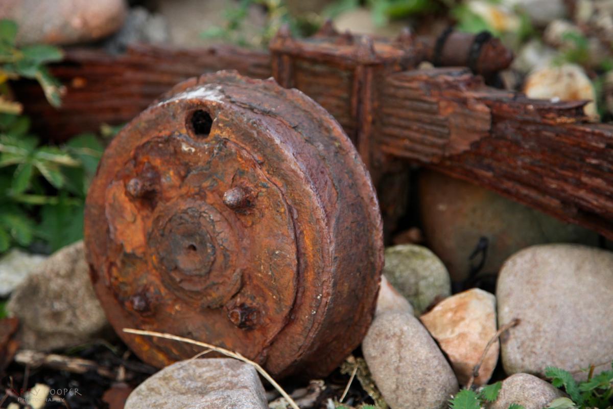 Rusty hub, Applecross