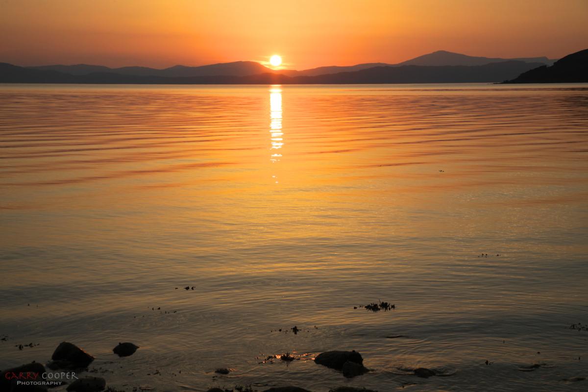Sunset, Applecross