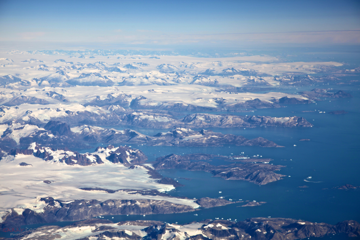 Approaching Greenland