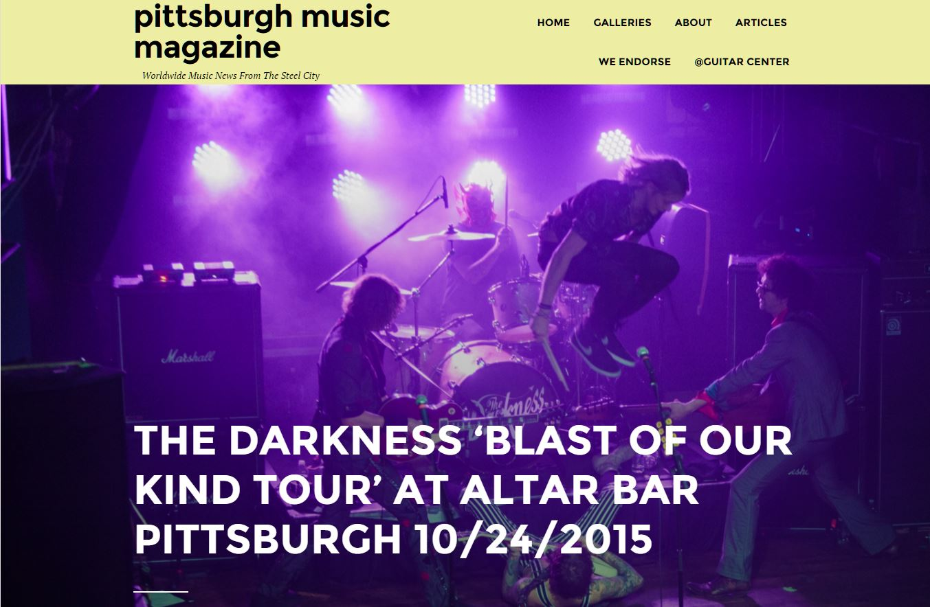 Concert review and photographs set 1 from The Darkness @ The Altar Bar  (  Pittsburgh Music Magazine  )