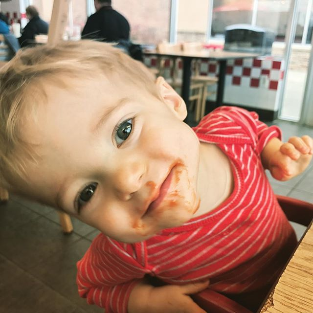 Somebody discovered ketchup today #firsttaste #heinzketchup #fiveguys