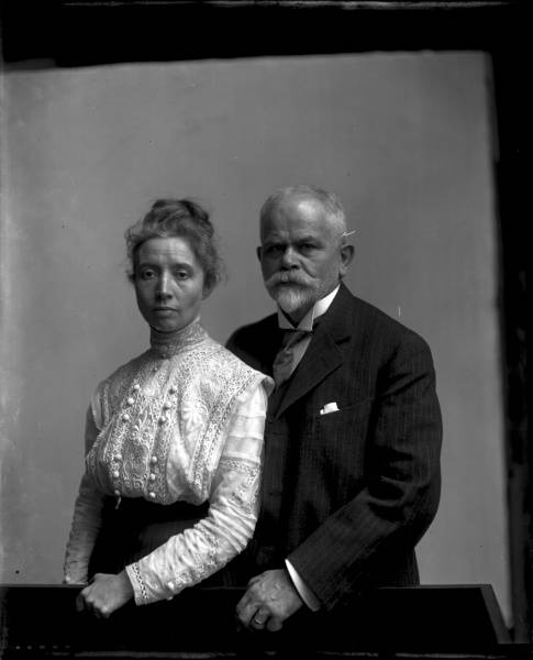Clara (Second Wife) and Louis P. Best