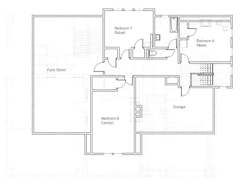 Best Residence, Original Configuration, Third Floor