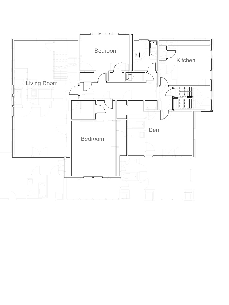 Apartment 7, all of third floor