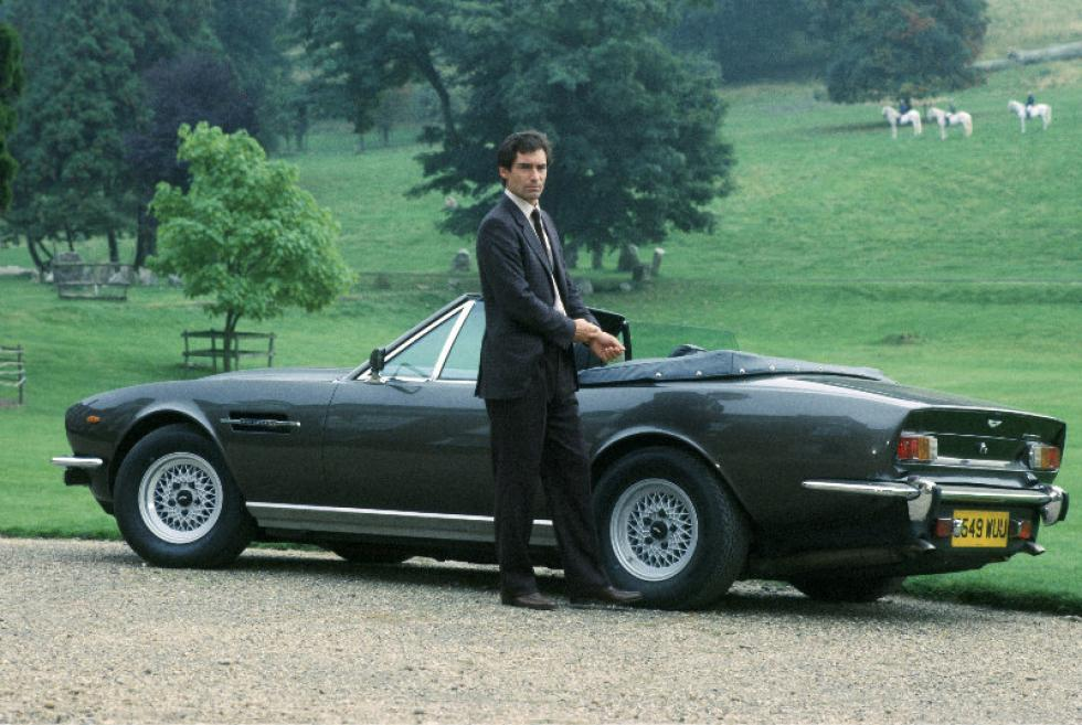 James Bond's Aston Martin.