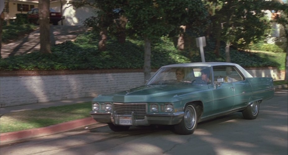 Grandpa's gorgeous 1972 Cadillac Coupe DeVille from License to Drive.