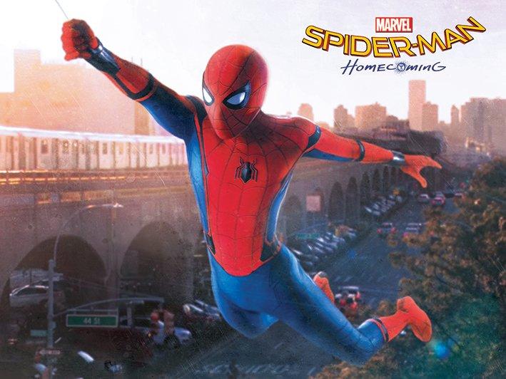 Spider-Man Homecoming Swinging