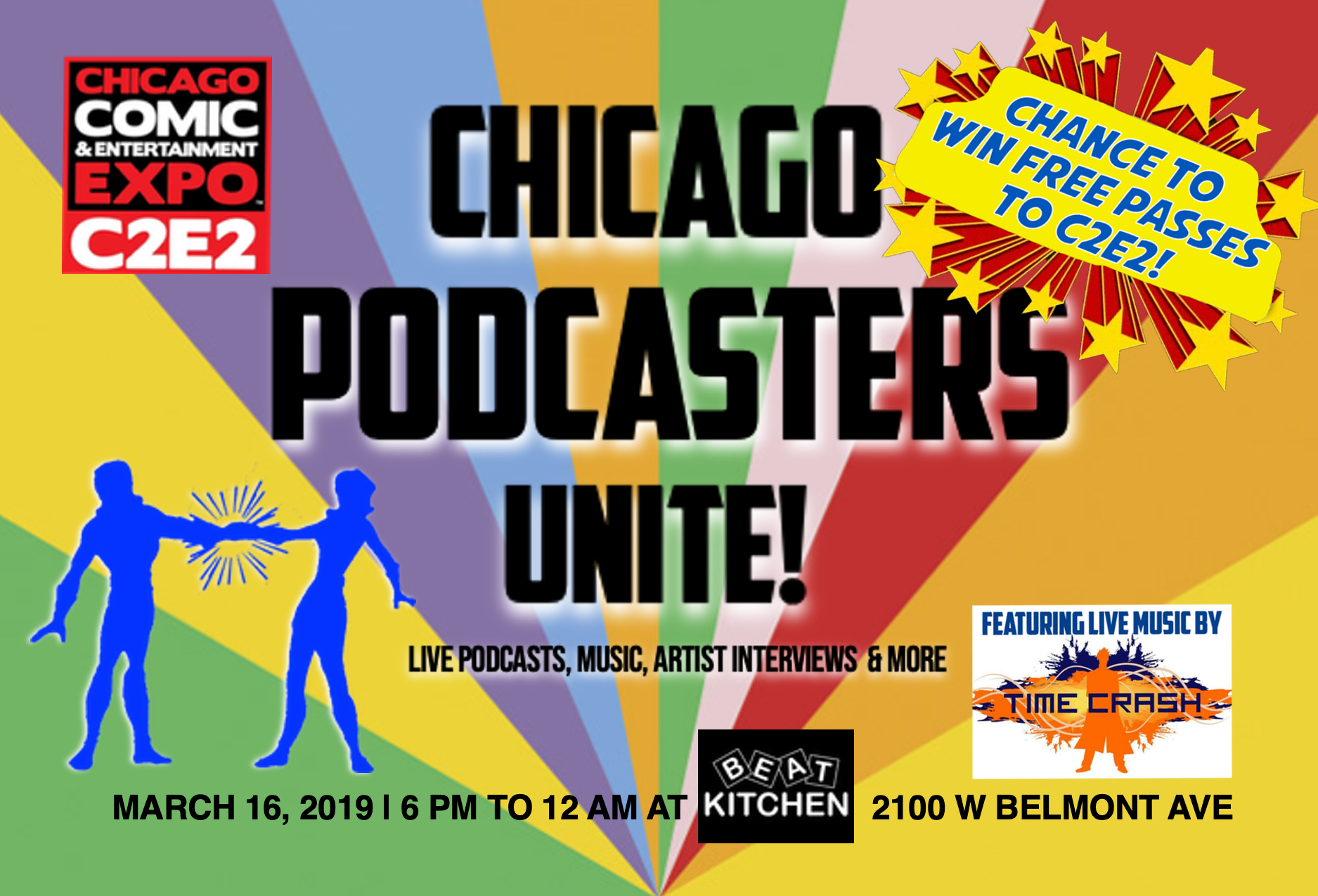 c2e2  J Chicago Podcasters Unite POSTCARD A 4X6.jpg