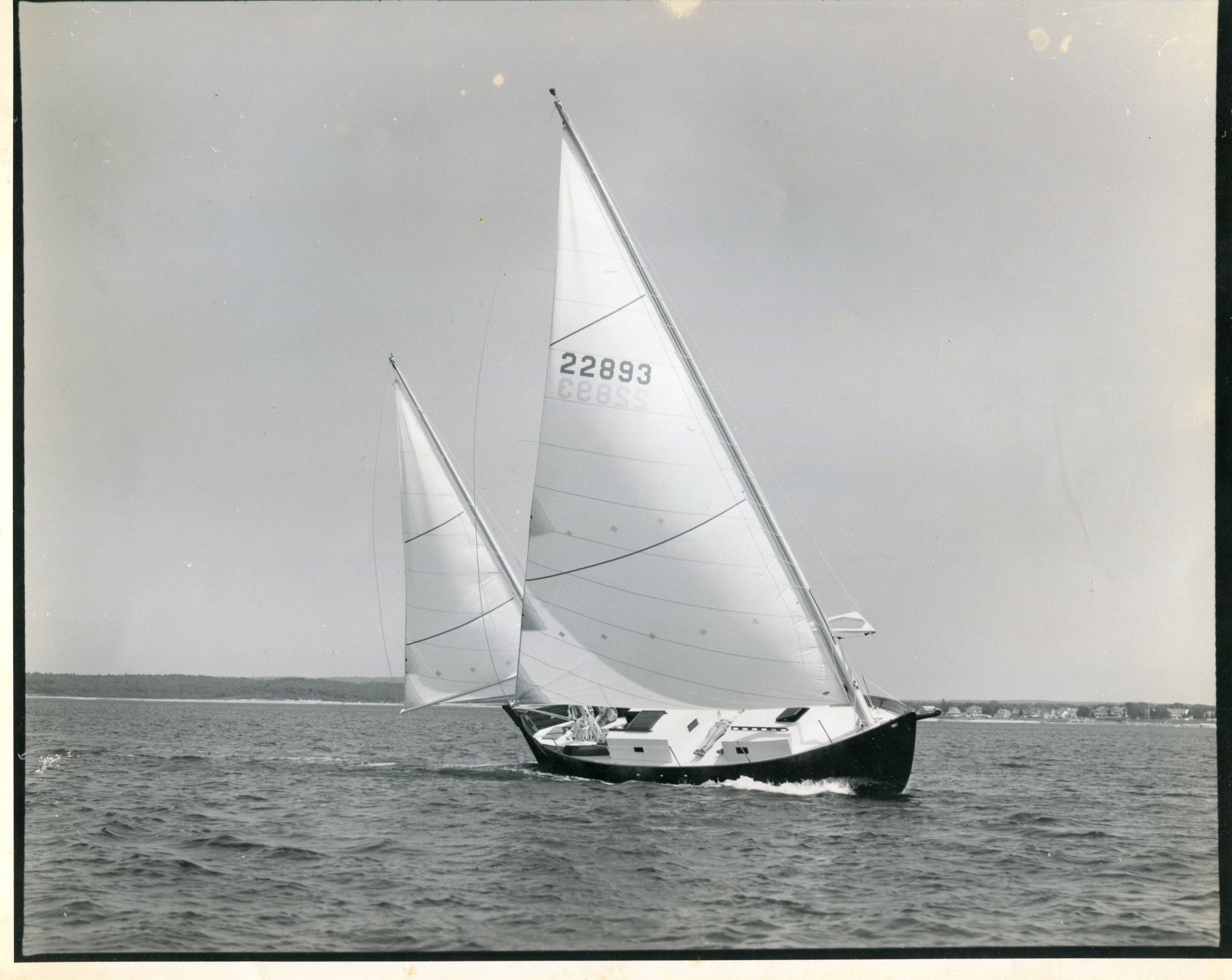 Sweet Chariot, Cat Ketch, Bolger, 37'