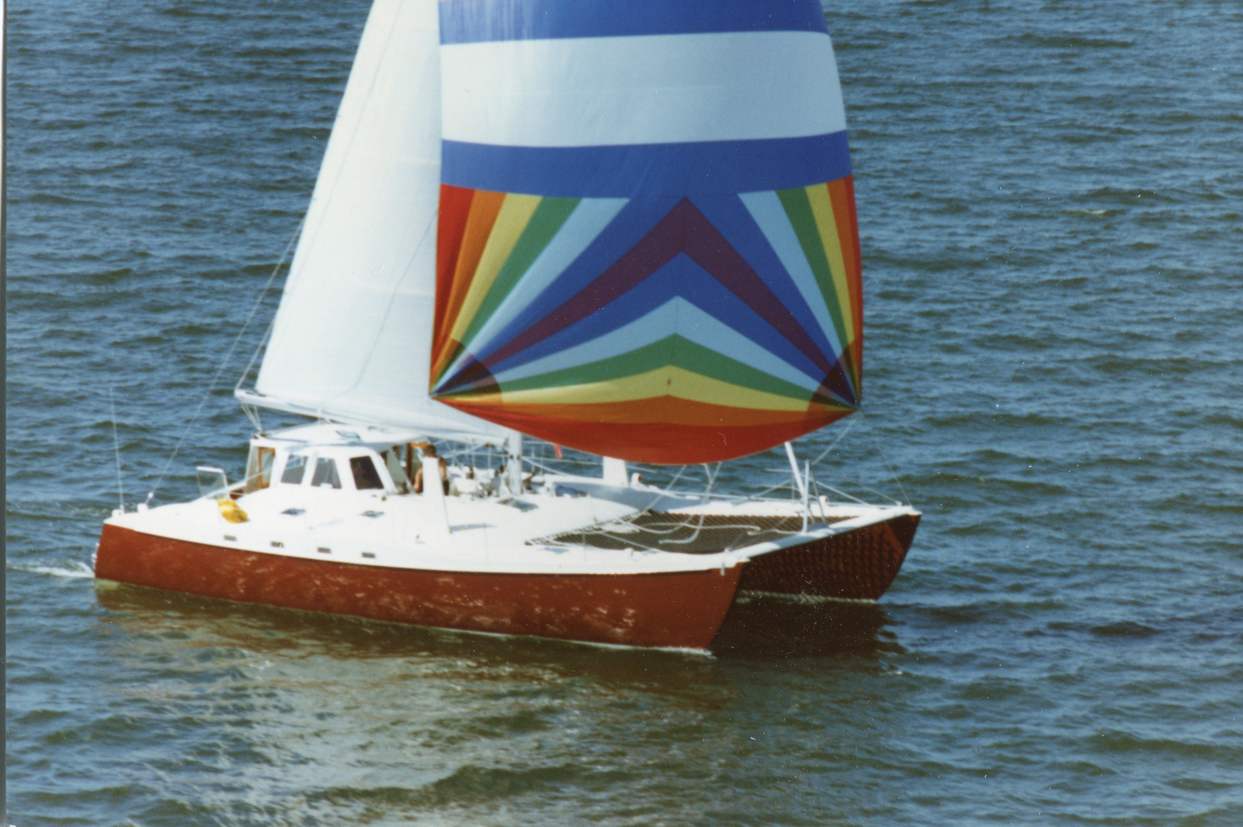 Melusine - C.White, Catamaran 50'