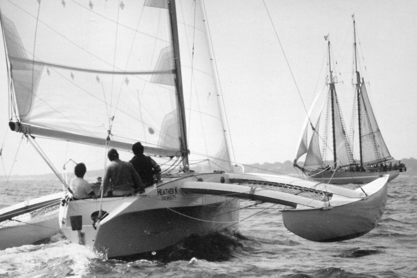 Multihull Boat - Heather K, Newick 30'