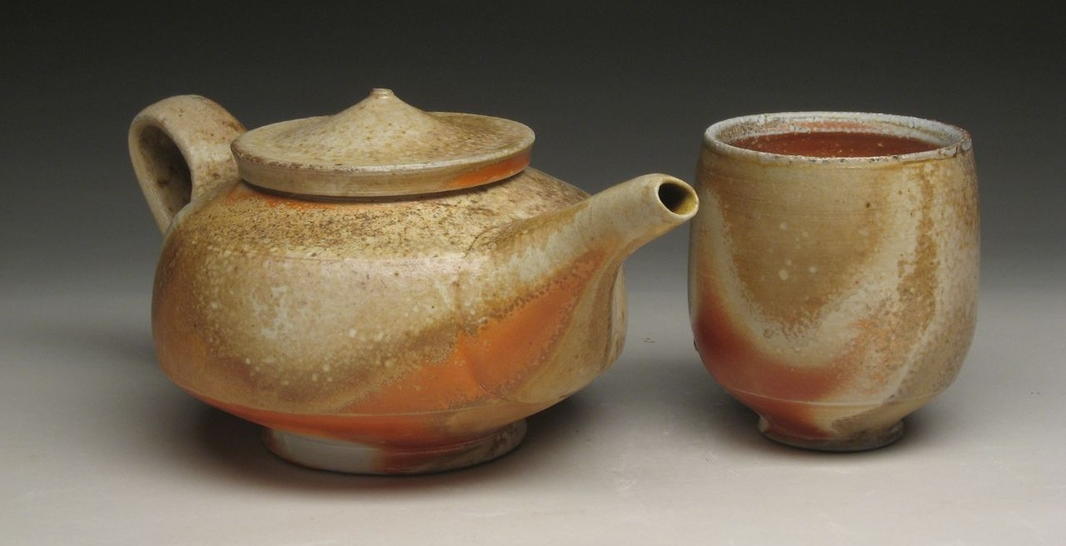 Teapot and cup  Tyler Gulden