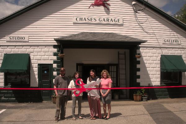 Chase's Garage Ribbon Cutting May 2013 002.jpg
