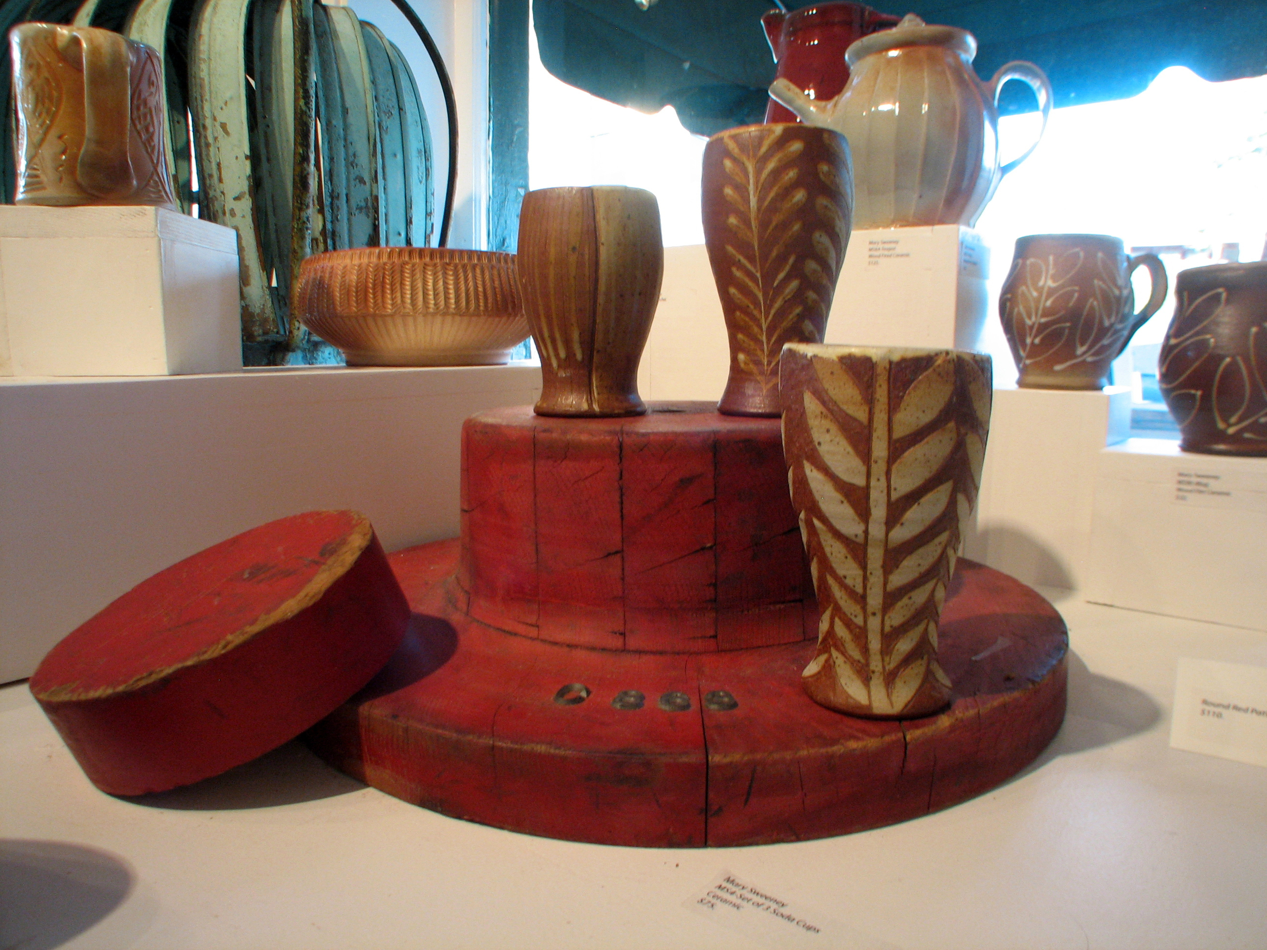 Vessels by  Mary Sweeney
