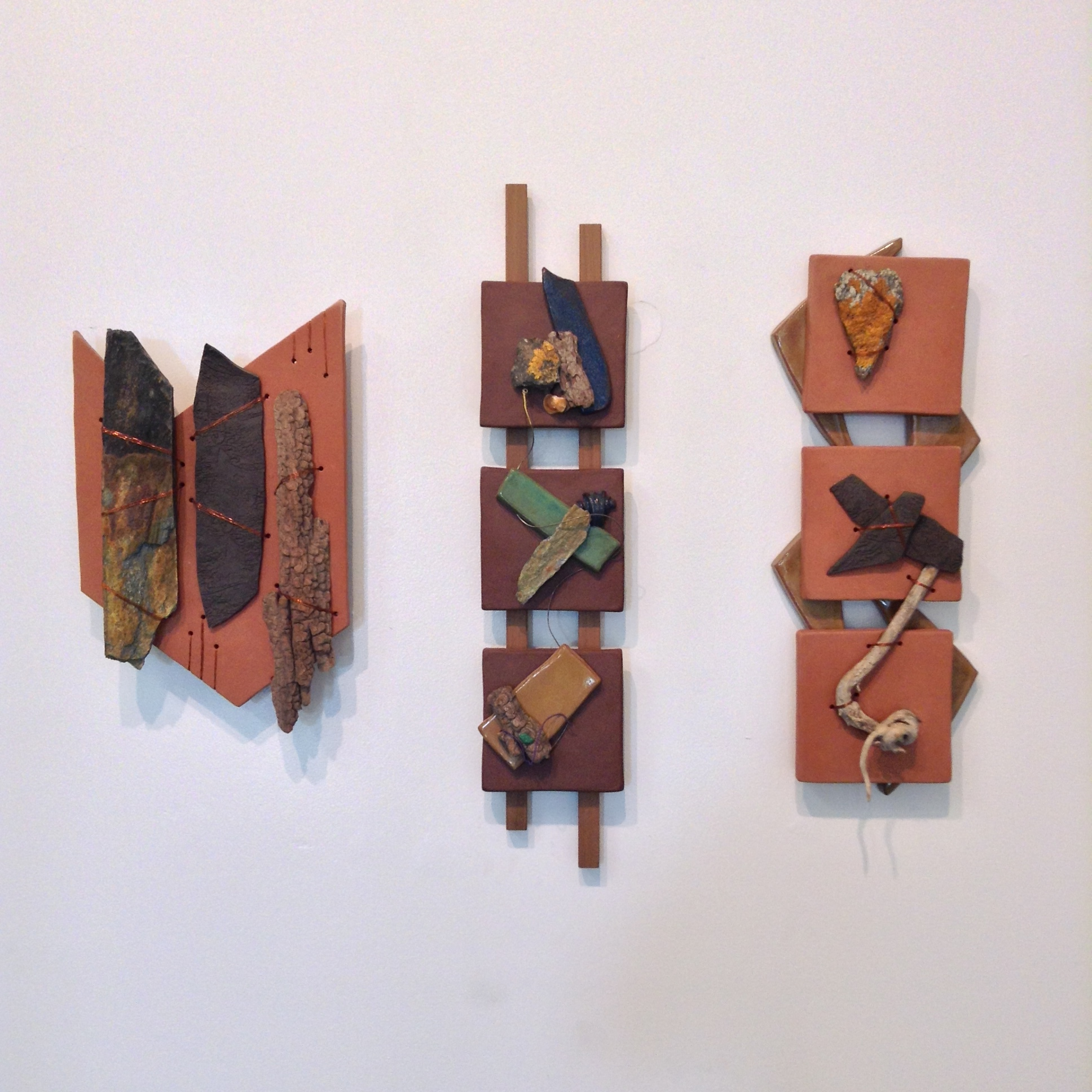 Sculptures by Samantha Goodall Ceramic & Found Objects