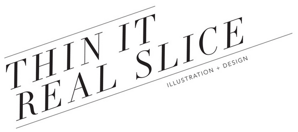 In addition to her talents as draftsman, painter and printmaker, Alyssa is a freelance graphic designer and illustrator - check out her works at www.ThinItRealSlice.com