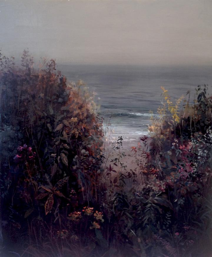 """Overgrown Path Acrylic on Canvas 20"""" x 24"""""""