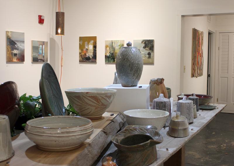 Jeremy Miranda - Oils on panel & Mary Sweeney - Ceramics