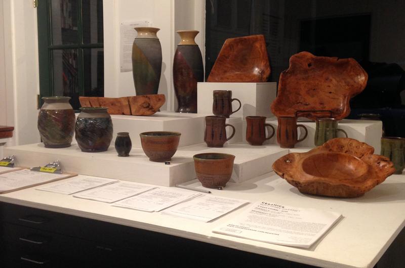 Jameson Burke - Ceramics & Pete Fischer - Burl Wood Vessels