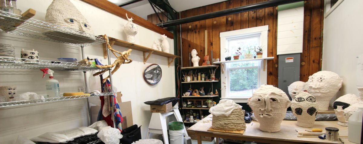 Image: Studio #6: Meghan Samson, Ceramics - learn more about our newest studios artist     in her three question interview here!