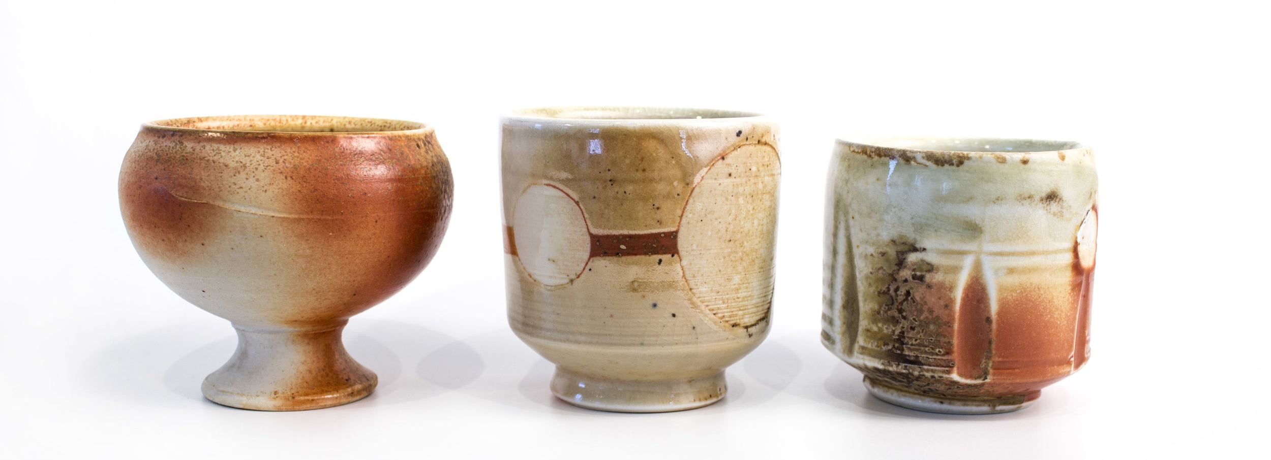 Brian Buckland - wood-fired cups