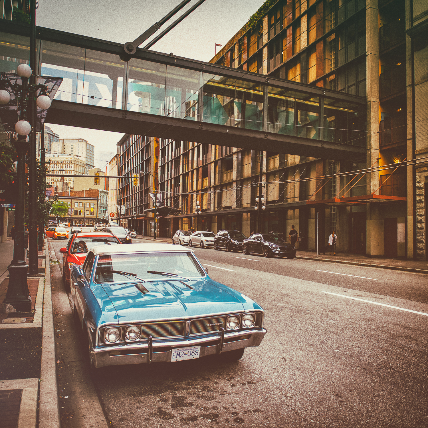 OLD CAR VANCOUVER