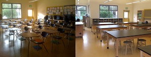 Before-After  - Costano/49er Science Lab