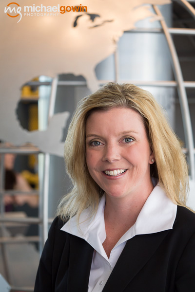 Kimberly Hauer, VP of Human Resources, Caterpillar Inc., Peoria, IL :: Michael Gowin Photography