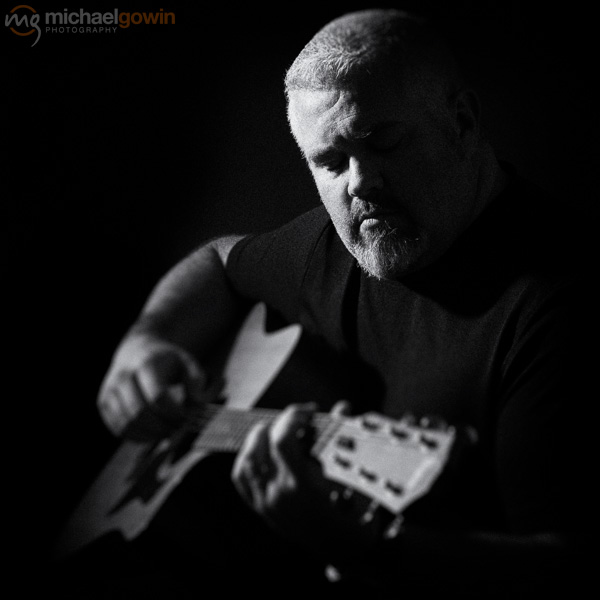 Rob Maupin, musician portrait :: Michael Gowin Photography, Lincoln, IL