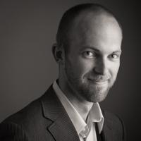 Man's professional business headshot, Bloomington, Illinois