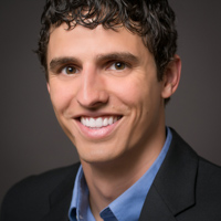 Man's professional business headshot, Peoria, Illinois