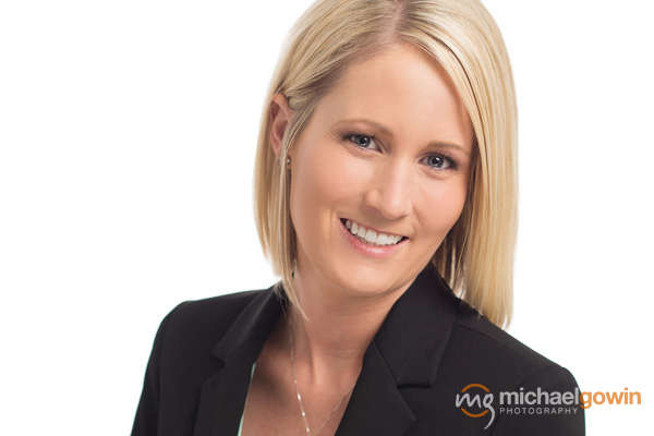 Chynna Farmer, realtor business headshot :: Michael Gowin Photography, Lincoln, IL