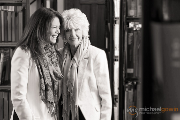 Heidi and Ieda Herman, author marketing photograph :: Michael Gowin Photography, Lincoln, IL