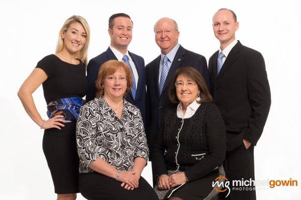 Red Oak Financial team :: Michael Gowin Photography, Lincoln, IL