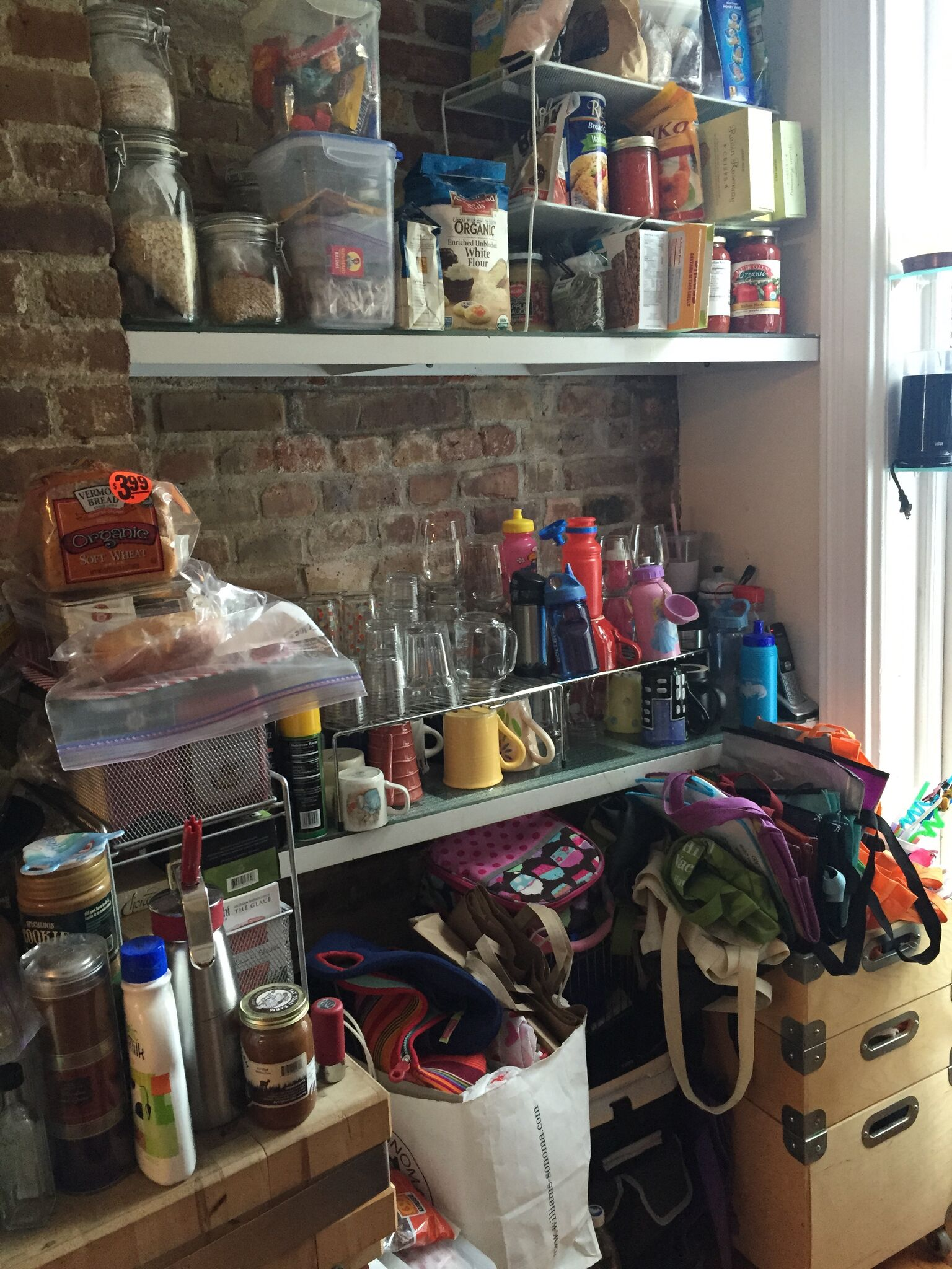 Before | Kitchen Shelving