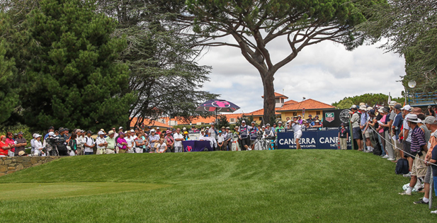 2013 Australian Women's Open, 1st Tee, Royal Canberra   Photo: iconphoto