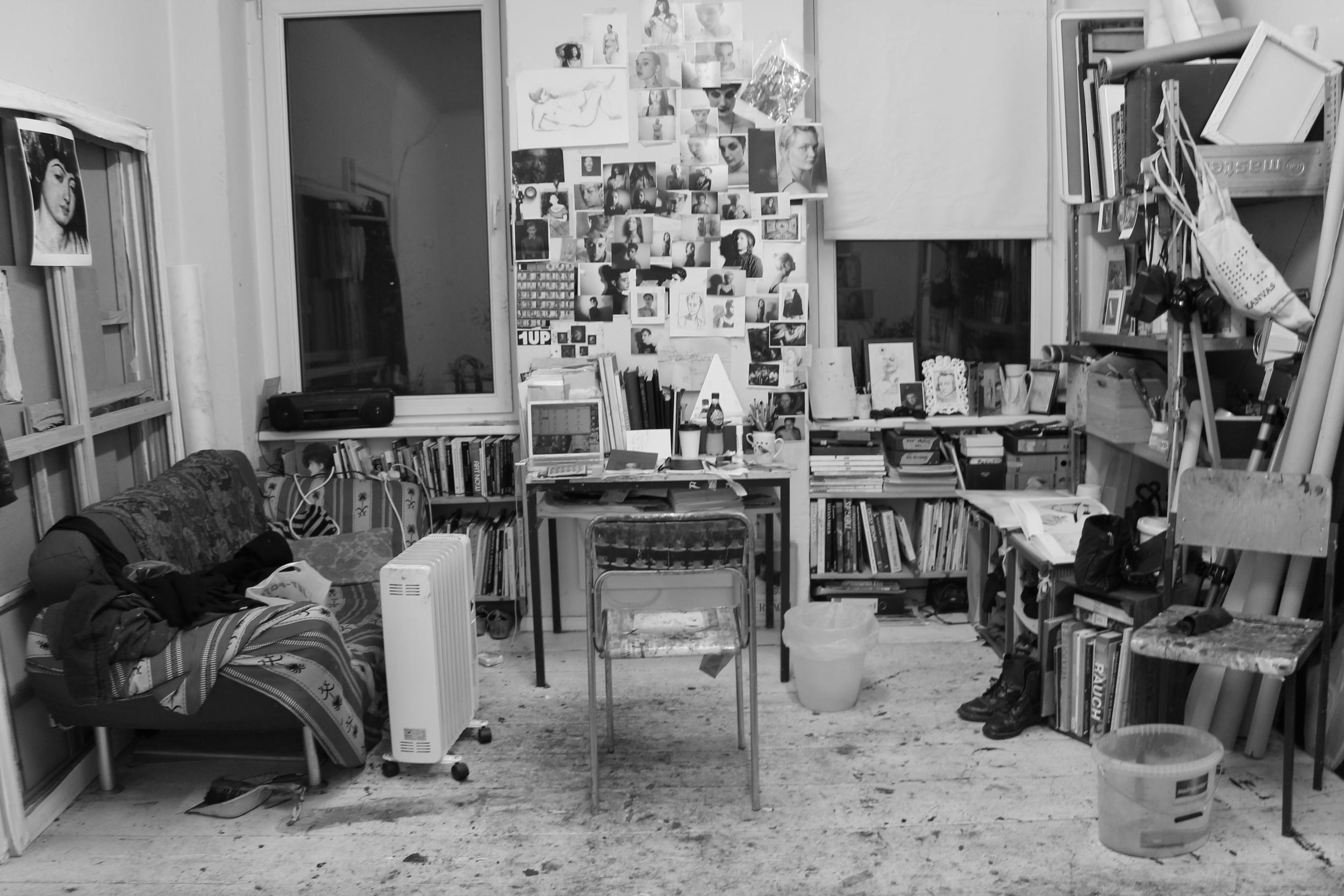 Studio. Winter, 2014