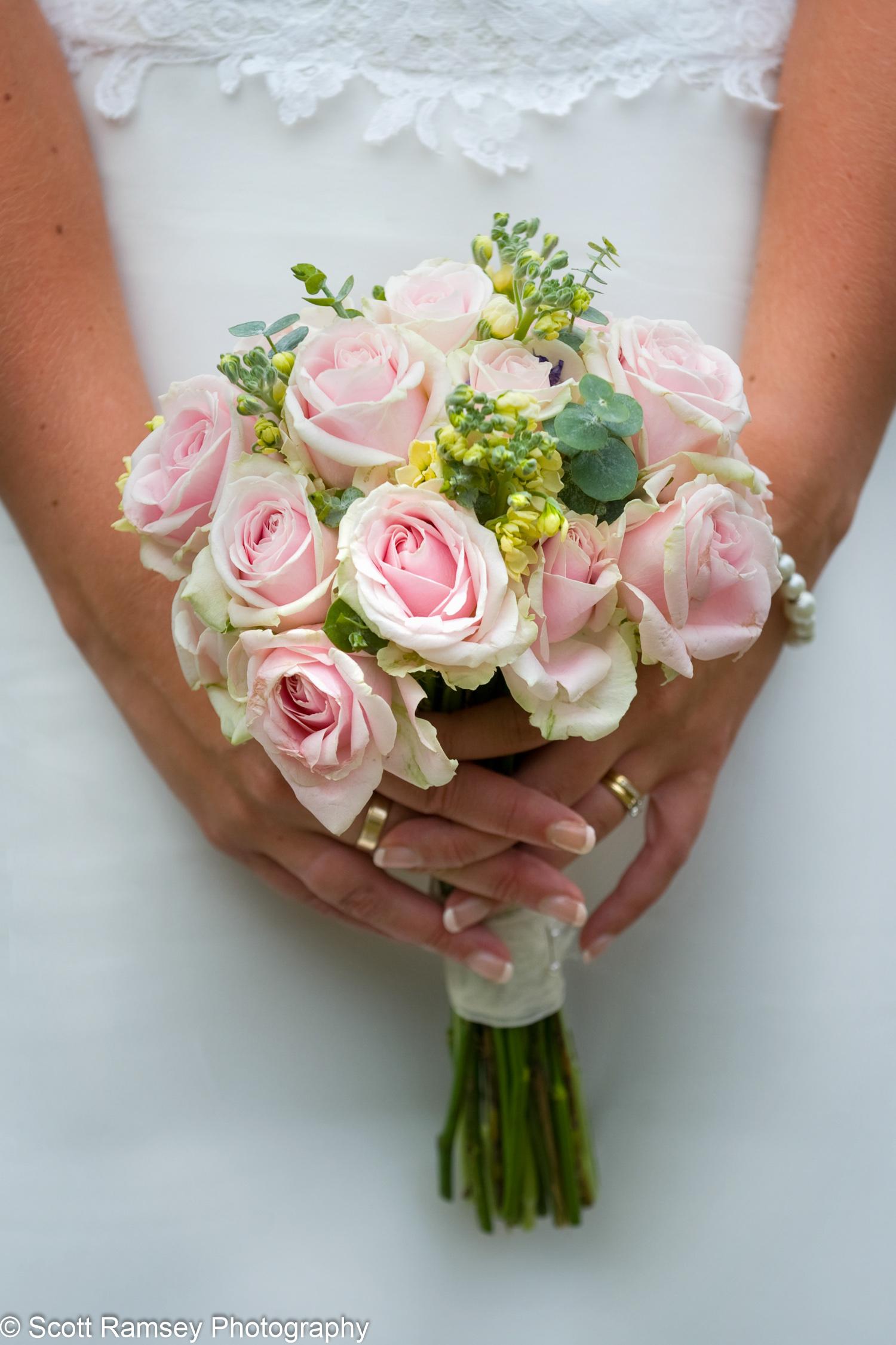 Brides Flower Bouquet Gate Street Barn