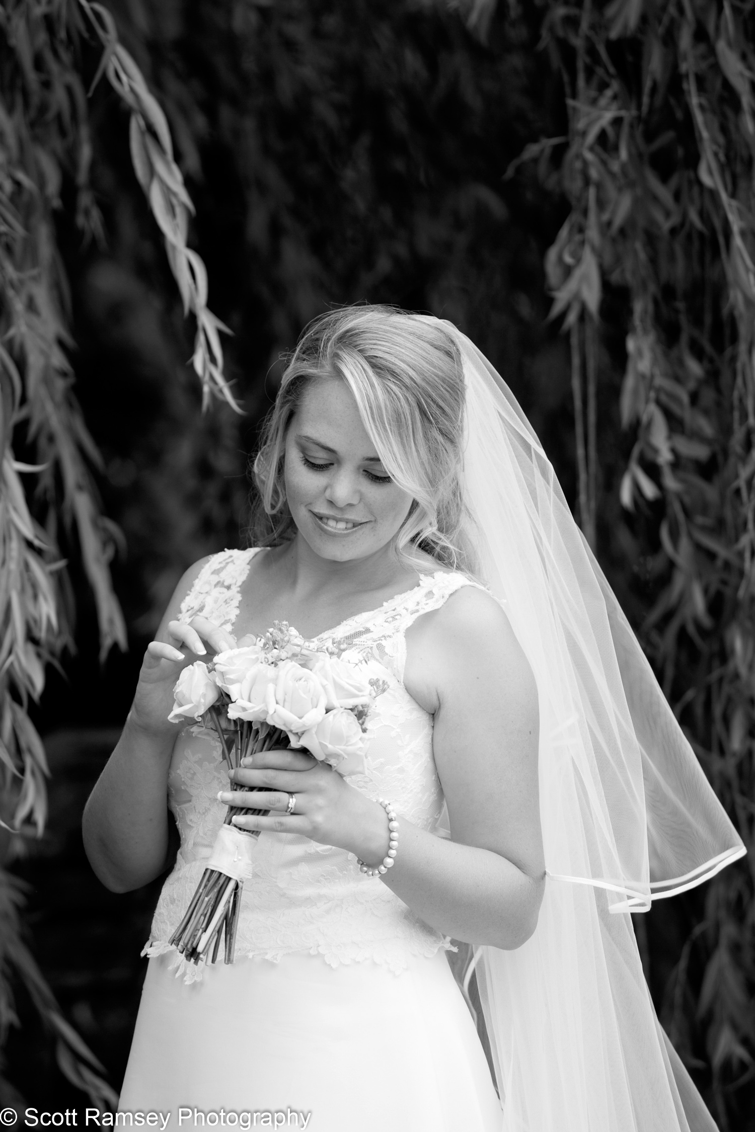 Bride At Gate Street Barn Surrey