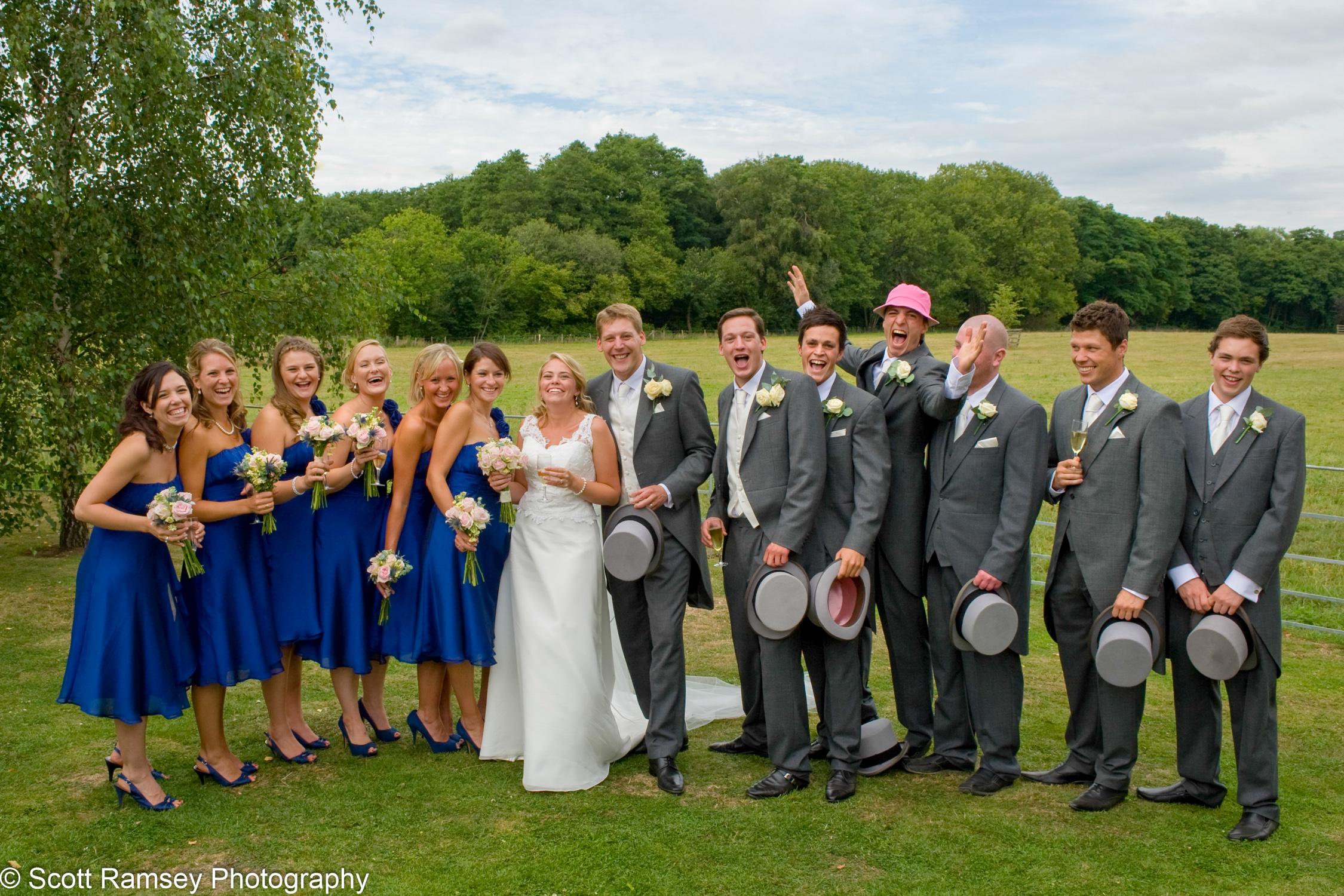 Gate Street Barn Fun Wedding Group
