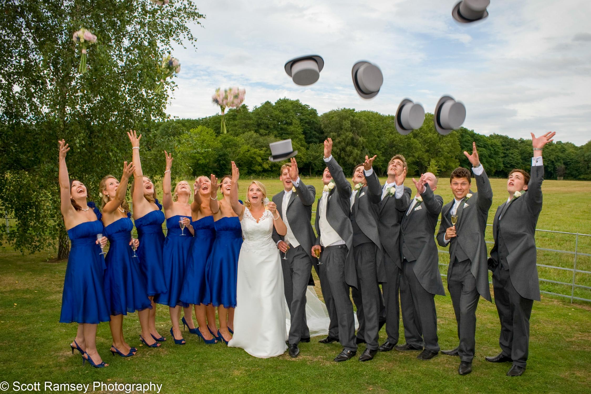 Wedding Group Gate Street Barn