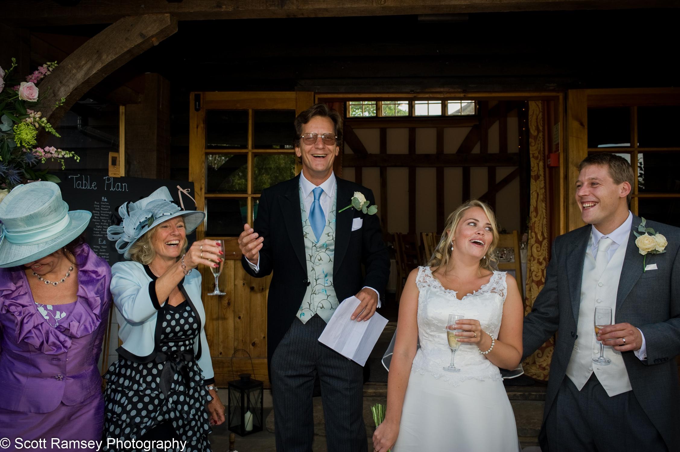 Wedding Speech Gate Street Barn