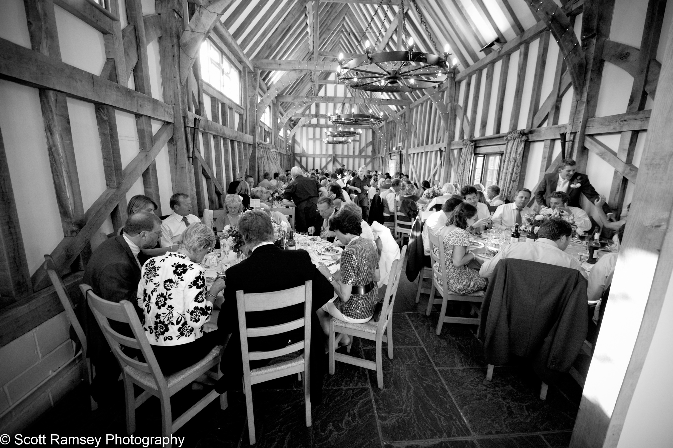 Wedding Reception Gate Street Barn Surrey