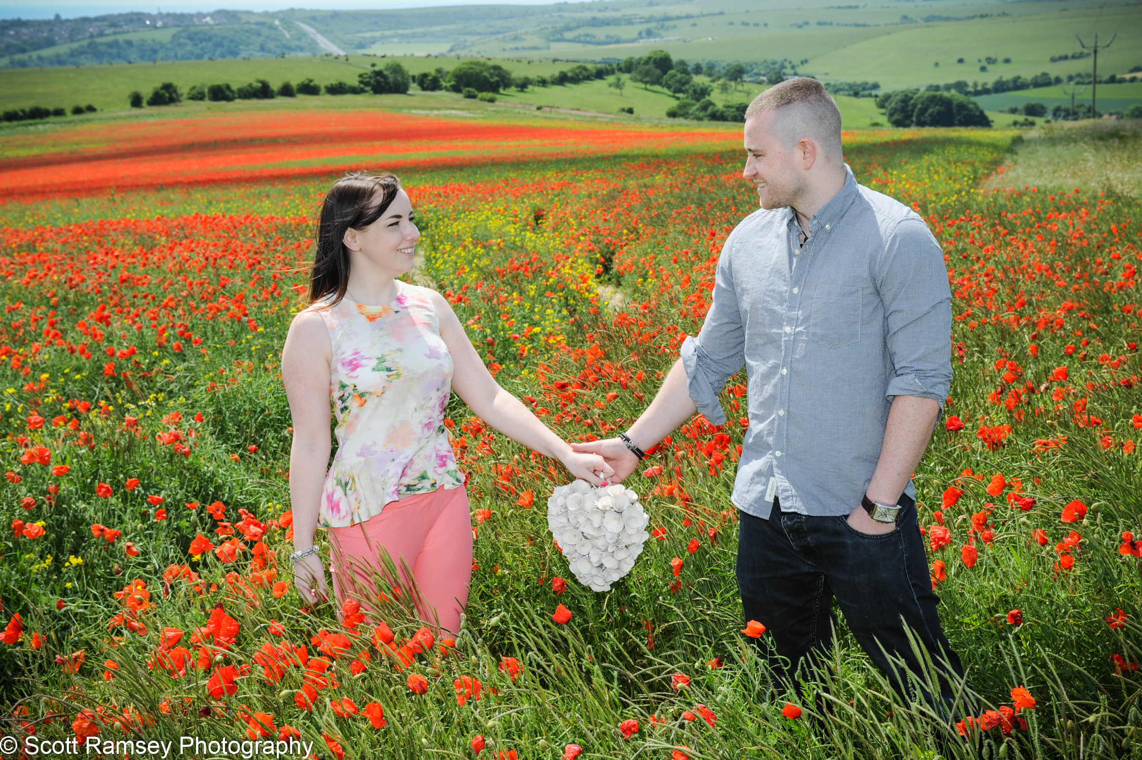 Engagement Photography Shoot East Sussex