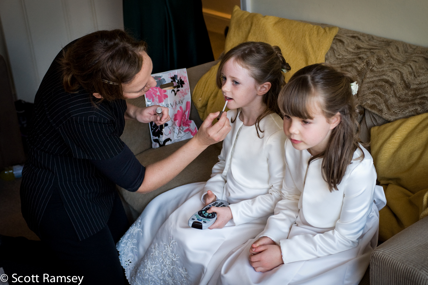 Bridesmaids Getting Ready Guildford Surrey
