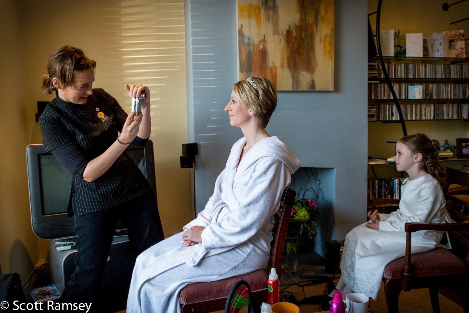 Guildford Bride Getting Ready