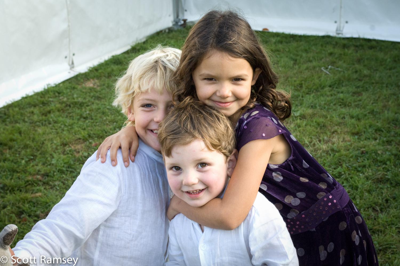 Children At Wedding Surrey
