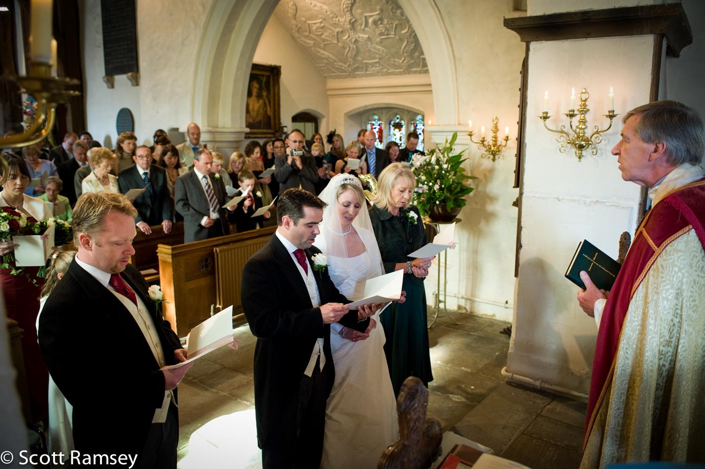 Wedding At St Thomas Church Surrey